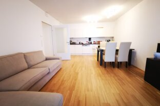 Furnished 3 room (one living room + 2 bed rooms) in Skytower with garage parking and comfort !