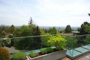 Stylisches Penthouse mit Rundumblick, Terrasse und Lift in die Wohnung