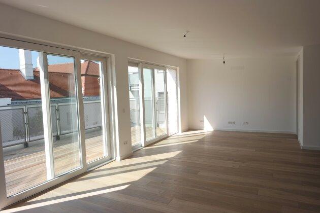 Foto von :::Erstklassige Neubaumaisonettewohnung im Baurecht mit 2 Terrassen in absoluter Grünruhelage:::