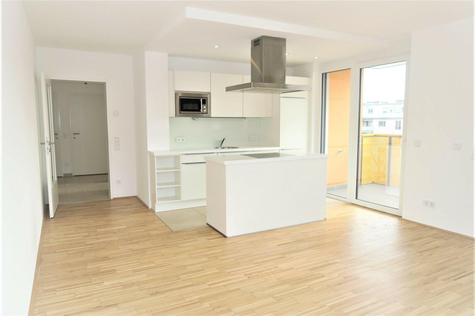Wohnraum mit Wohnküche