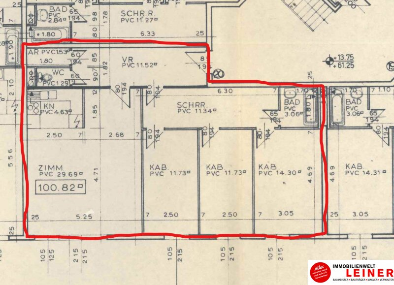 Investoren und Familien aufgepasst !! 100 m², 4 Zimmer Eigentumswohnung in der Hanauskagasse, Meidling Objekt_9573 Bild_239