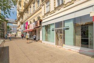 100m² großes Geschäftslokal nahe Westbahnhof - keine Gastronomie