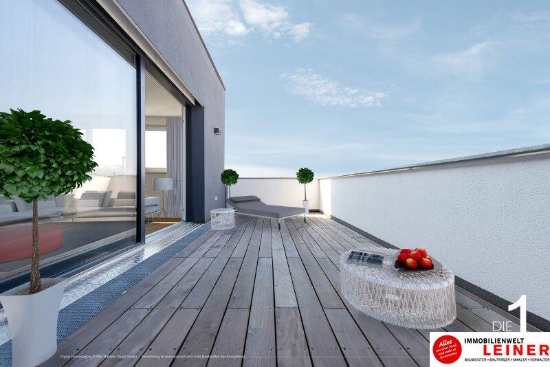 100 m² PENTHOUSE *UNBEFRISTET*Schwechat - 3 Zimmer Penthouse im Erstbezug mit 54 m² großer südseitiger Terrasse Objekt_8814