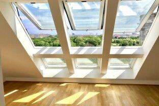 Exquisite Dachgeschoßwohnung mit Blick über Wien & Augarten!!!
