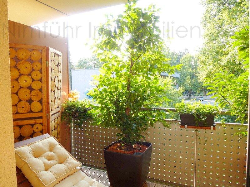 Sonnendurchflutete 3-Zimmer-Wohnung in genialer Grün-Ruhelage Gneis