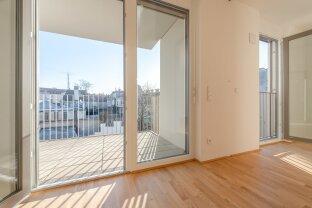 hochwertig ausgestattet - praktisch - ruhig: 2 Zimmer Erstbezugswohnung mit Balkon!