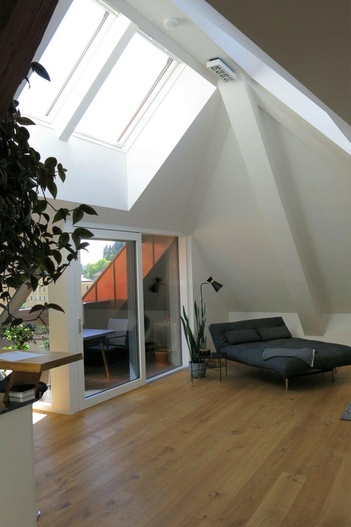 Maisonette Kufstein, Wohnen, Terrasse