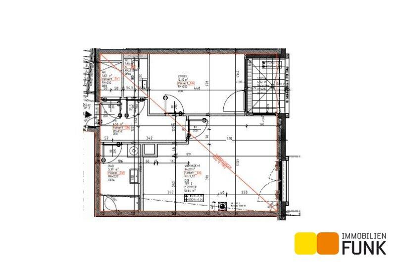 Moderne 2-Zimmer-Wohnung mit Loggia in ruhiger Lage /  / 1210Wien / Bild 1