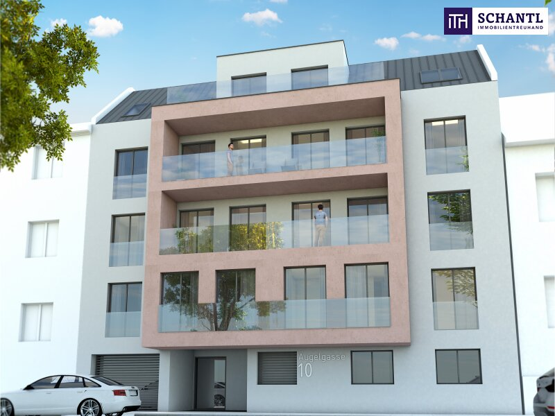 Toller Blick + Lebensqualität pur! Ab ins Dachgeschoss mit 2 Terrassen und perfekter Raumaufteilung! Jetzt zugreifen! /  / 1210Wien / Bild 1