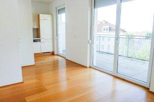 Attraktive und sehr geräumige 2-Zimmer Wohnung mit großer Terrasse in Geidorf