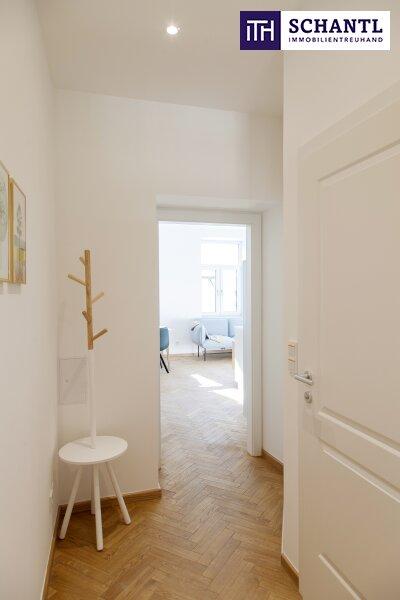 Ihre perfekte Kleinwohnung! Viel Platz auf wenigen Quadratmetern! Hochwertige Sanierung + Beste Infrastruktur + Komplett saniertes Haus! /  / 1150Wien / Bild 3