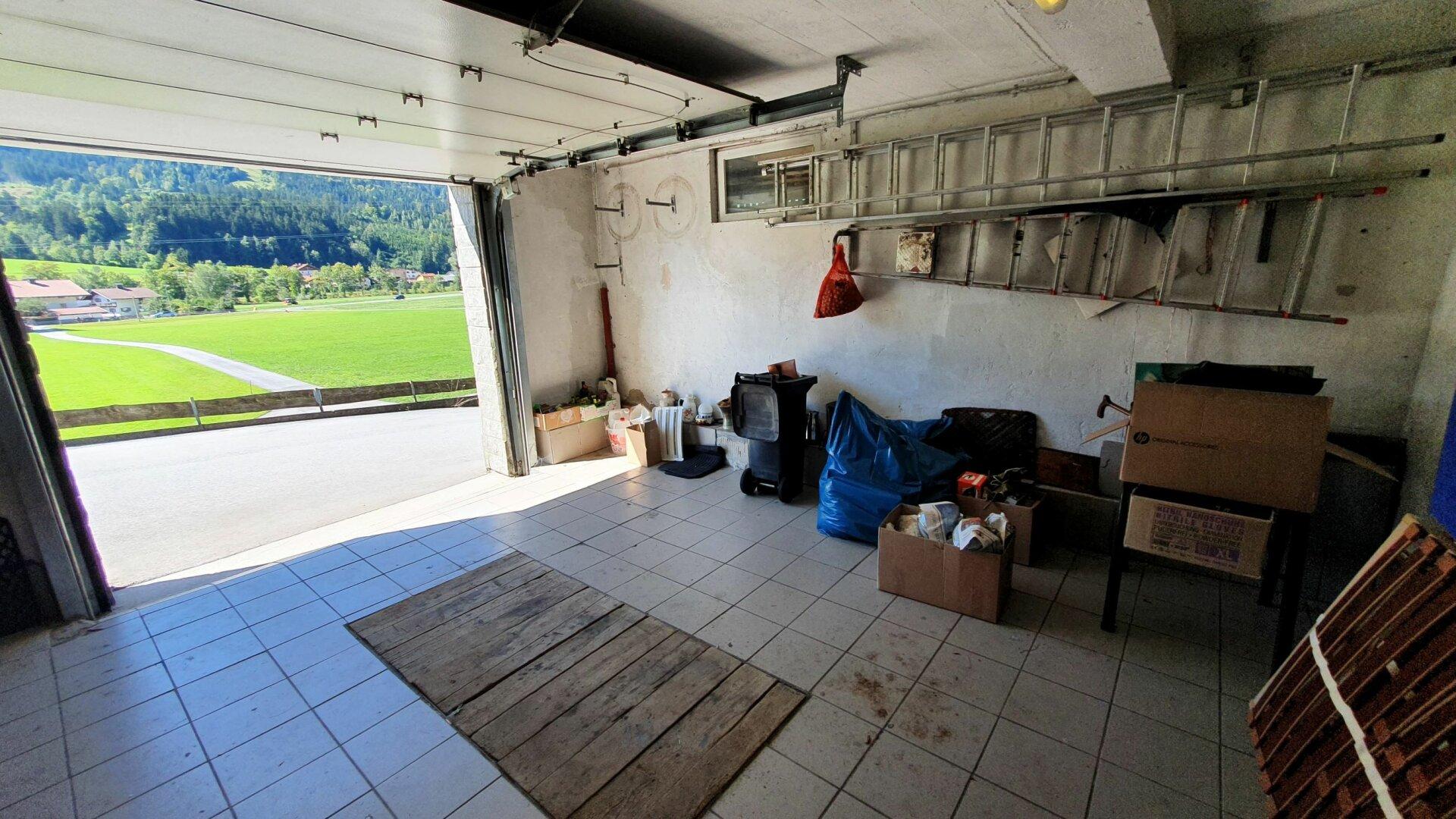 Einfamilienhaus Kirchbichl, Garage