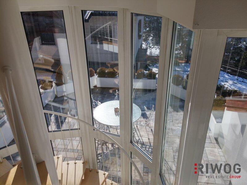 Moderne Maisonette Wohnung mit mediterranen Flair