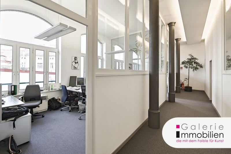 Backsteinbau - Loftbüro mit Gusseisensäulen - Tiefgarage im Haus Objekt_29099