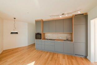 moderne 2 Zimmer-Wohnung mit Balkon samt Fernblick beim Belvedere - hochwertig ausgestattet!