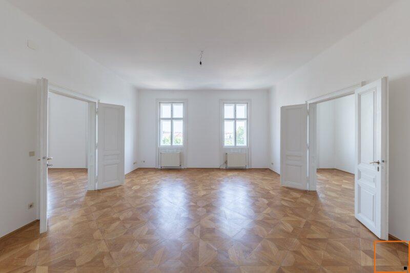 Botschaftsviertel - klimatisierte Altbauwohnung mit Blick in den Park des Palais Schwarzenberg /  / 1040Wien / Bild 0