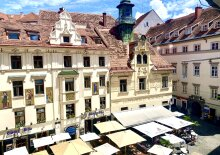 +++ SCHLOSSBERG-BLICK +++ Fantastic 3 room old building in the heart of Graz