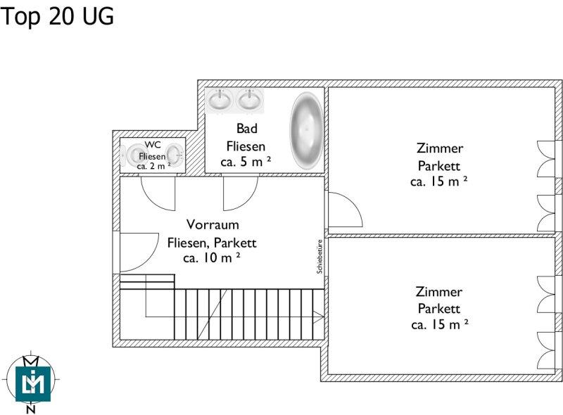 DG-Maisonette mit großer Terrasse auf Wohnebene im Erstbezug (provisionsfrei!) /  / 1180Wien / Bild 1