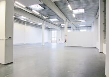 Storage Warehouse 573 sqm with integrated Office space, south of Vienna in Wr. Neudorf, Austria to let