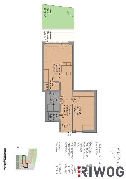 7 Wohnungen im Herzen von Krumpendorf /  / 9201Krumpendorf am Wörthersee / Bild 2