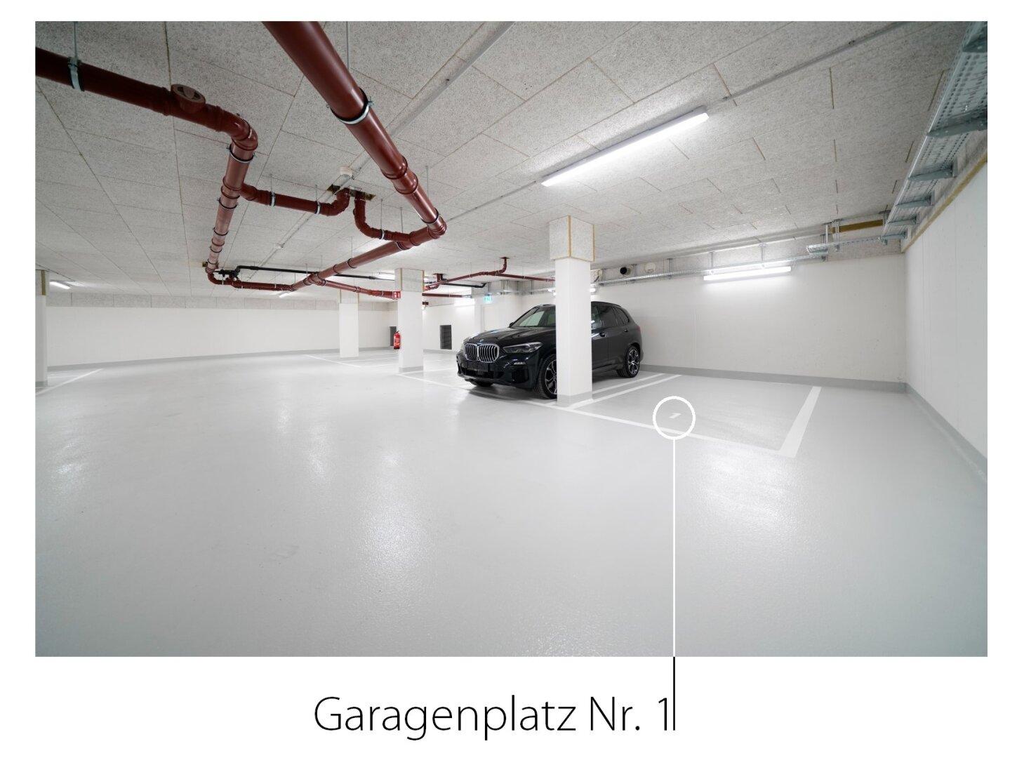 Garagenplatz Nr. 1