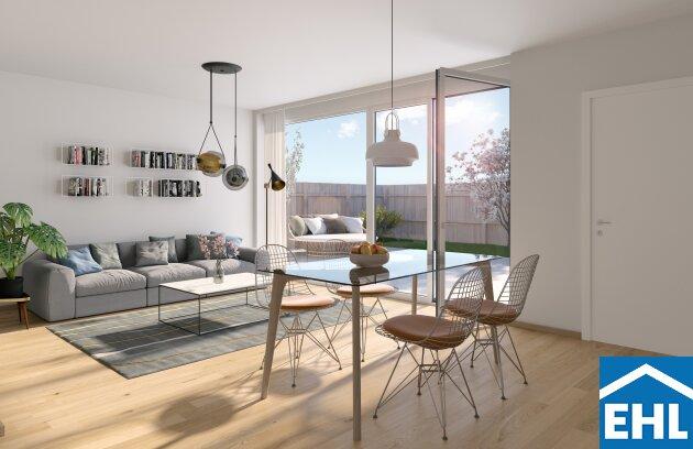 Familiäres Wohnen: Eck-Reihenhaus mit 4 Zimmern, Terrasse, Gartenanteil und Dachterrasse