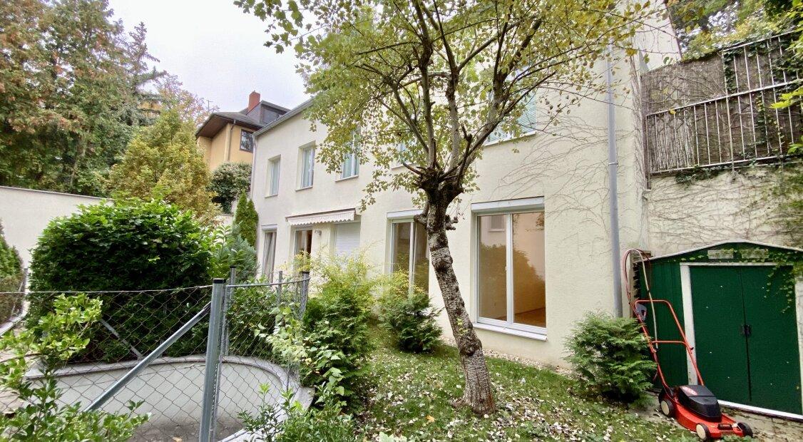 Wunderschöne Gartenwohnung in zweiter Reihe in Sieveringer Top Lage inkl. Garagenstellplatz - Sauna - etc.