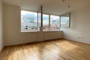 Gut aufgeteilte Wohnung 2-Zimmer Wohnung direkt am Handelskai , ideal für Paare !