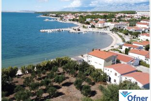 Neustart in Kroatien: teilbares Bauland in Vrsi zu kaufen
