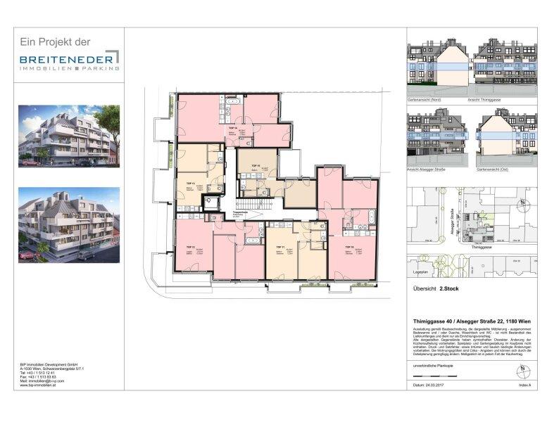 Thimiggasse 40 - Moderne Apartments in ruhiger Grünlage in Wien Gersthof /  / 1180Wien / Bild 6