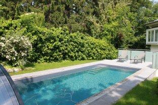 luxuriöses Eigentum mit Garten und Pool am Schafberg