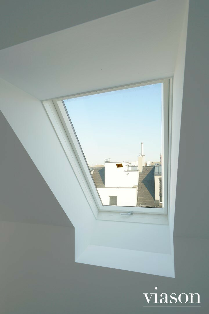 Blick Schlafzimmerfenster