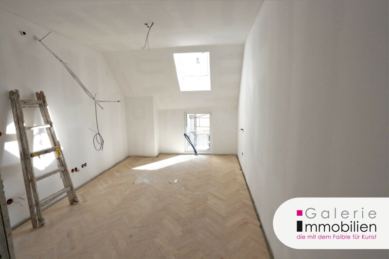 Sehr guter Grundriss - Bezaubernde DG-Wohnung mit Loggia in generalsaniertem Gründerzeithaus Objekt_33410