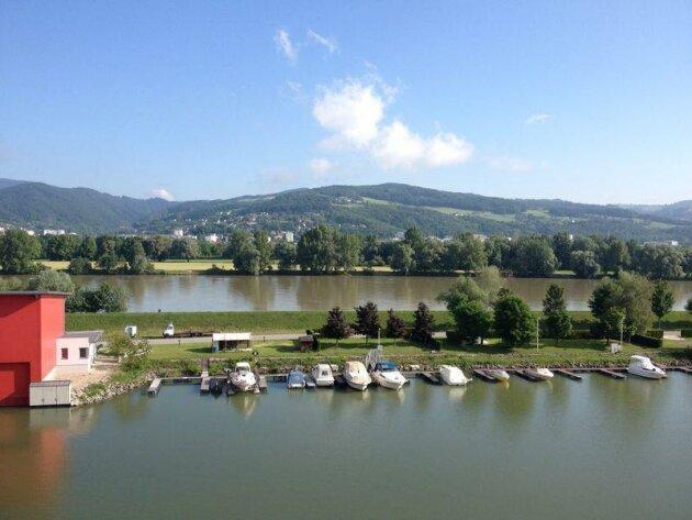Wohnen am Wasser Donaupromenade