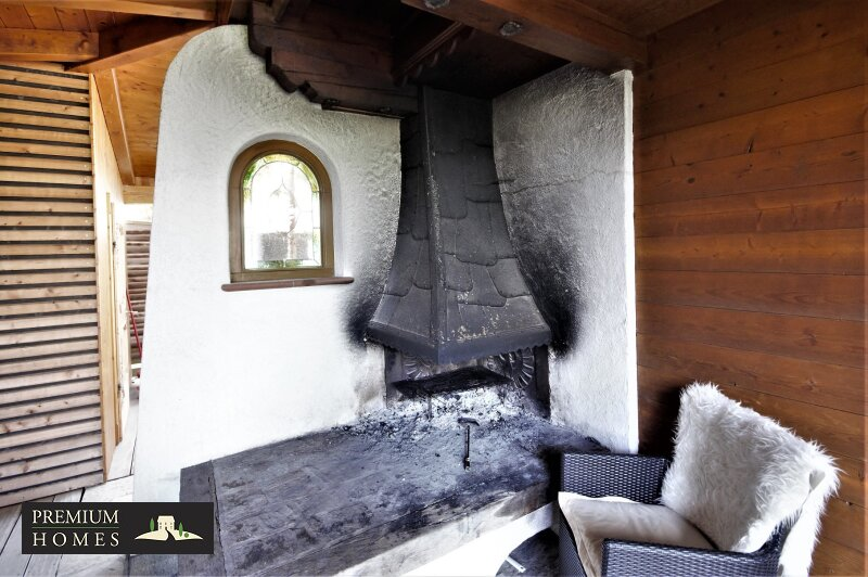 Breitenbach am Inn - Elegantes Landhaus - offene Feuerstelle Terrasse