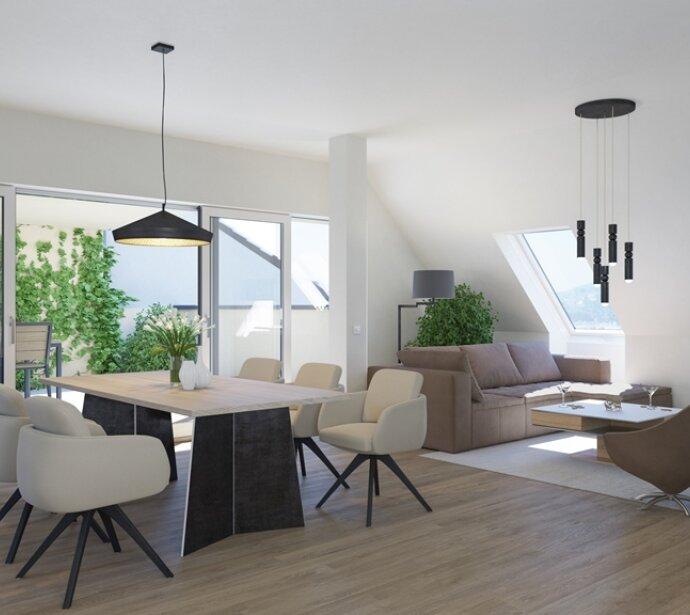 Exklusives provisionsfreies Penthouse mit über 70m2 Terrassen