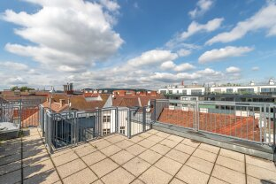 SINGLE WOHNUNG mit großzügiger Dachterrasse in der Hickelgasse 23 **ab sofort !