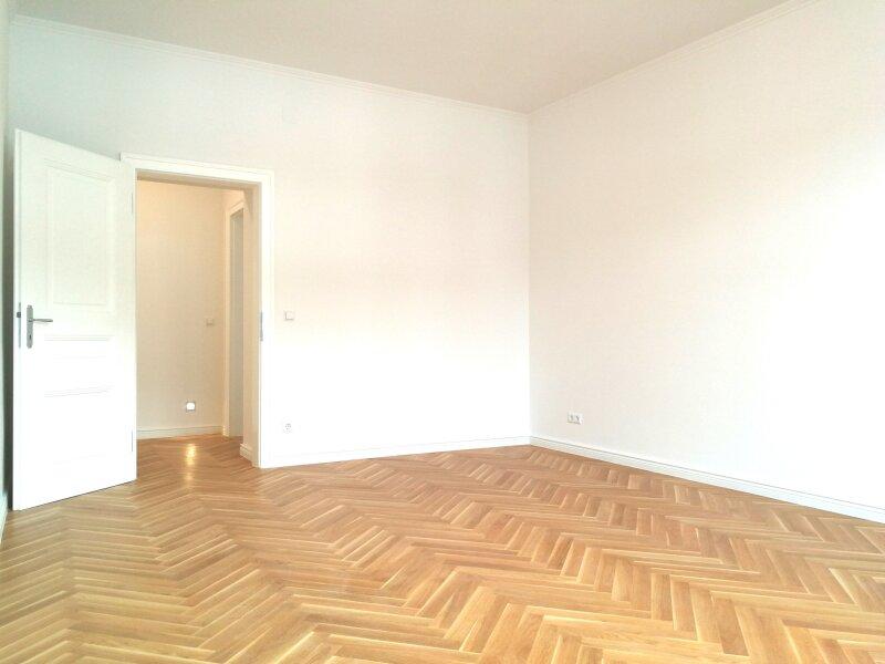 ERSTBEZUG - 4 Zimmer ALTBAU top saniert - 1030 Wien - 3. OG Top 17 ------ U Bahn Nähe - LOGGIA  - Schlafzimmer Hofseitig /  / 1030Wien / Bild 1
