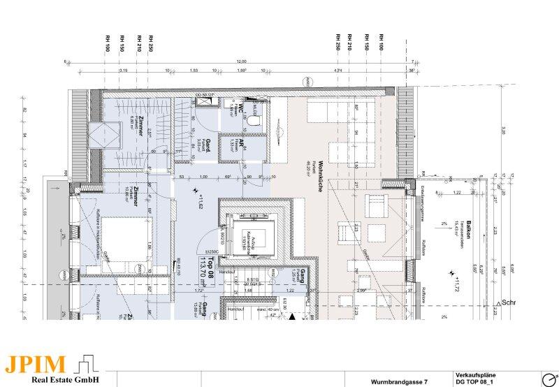 PROVISIONSFREI! 5-Zimmer-Dachgeschosswohnung mit 360° Blick Dachterrasse /  / 1220Wien / Bild 2