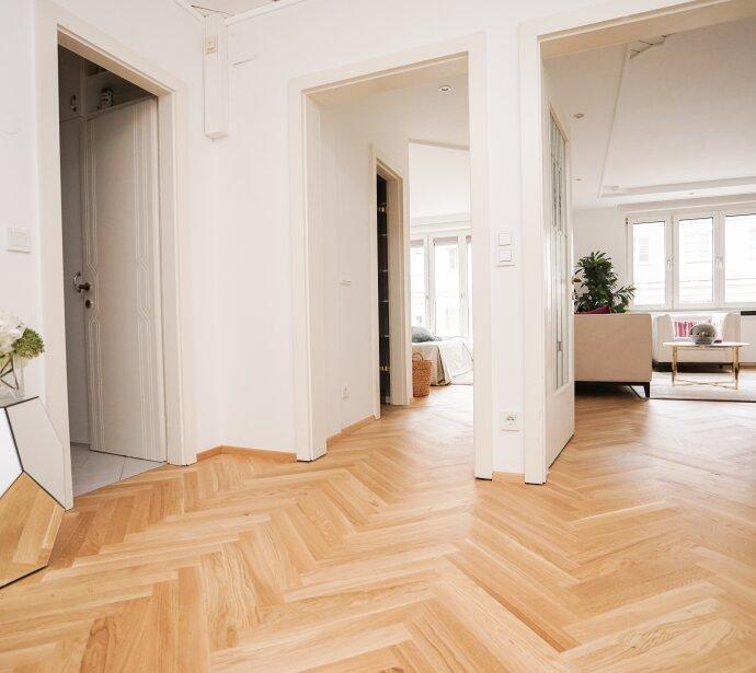 Wunderschön sanierte Wohnung mit perfekter Raumaufteilung in zentraler Lage