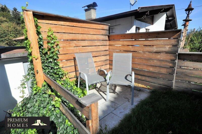 Angerberg_Doppelhaushälfte_Nische zum Sitzen im Garten