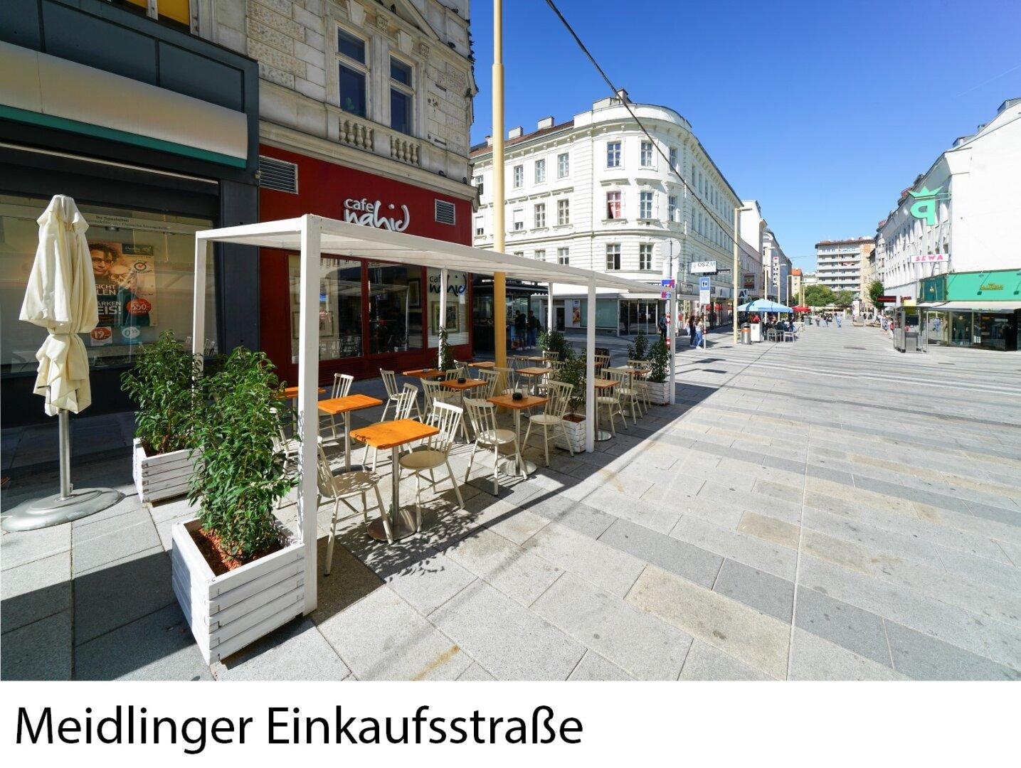 Nahe Meidlinger Einkaufsstraße