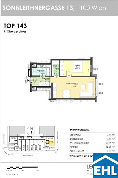 ERSTBEZUG: Moderne und schön ausgestattete Wohnungen an der Grenze zu Margareten /  / 1100Wien / Bild 7