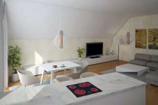 Dachgeschoßwohnung mit 3 Zimmern und großer Terrasse! AB DEZEMBER