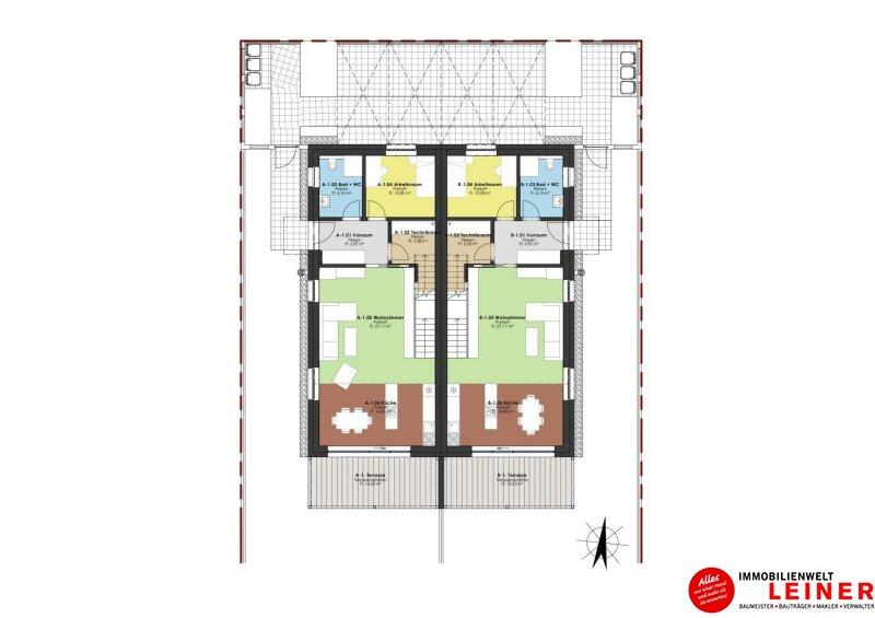 Moderne Doppelhaushälfte in familienfreundlicher Siedlung in Bruck an der Leitha Objekt_10076 Bild_834