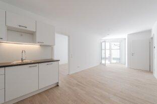 ruhige 3 Zimmer Neubauwohnung mit Innenhof-Terrasse in beliebter Lage - ab sofort!