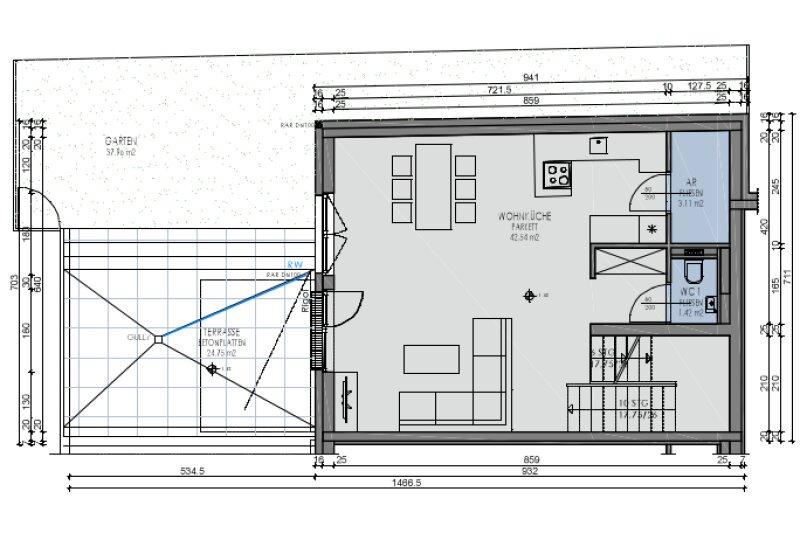 Familien-Maisonette mit Eigengarten, Terrasse, Balkon /  / 1220Wien / Bild 8