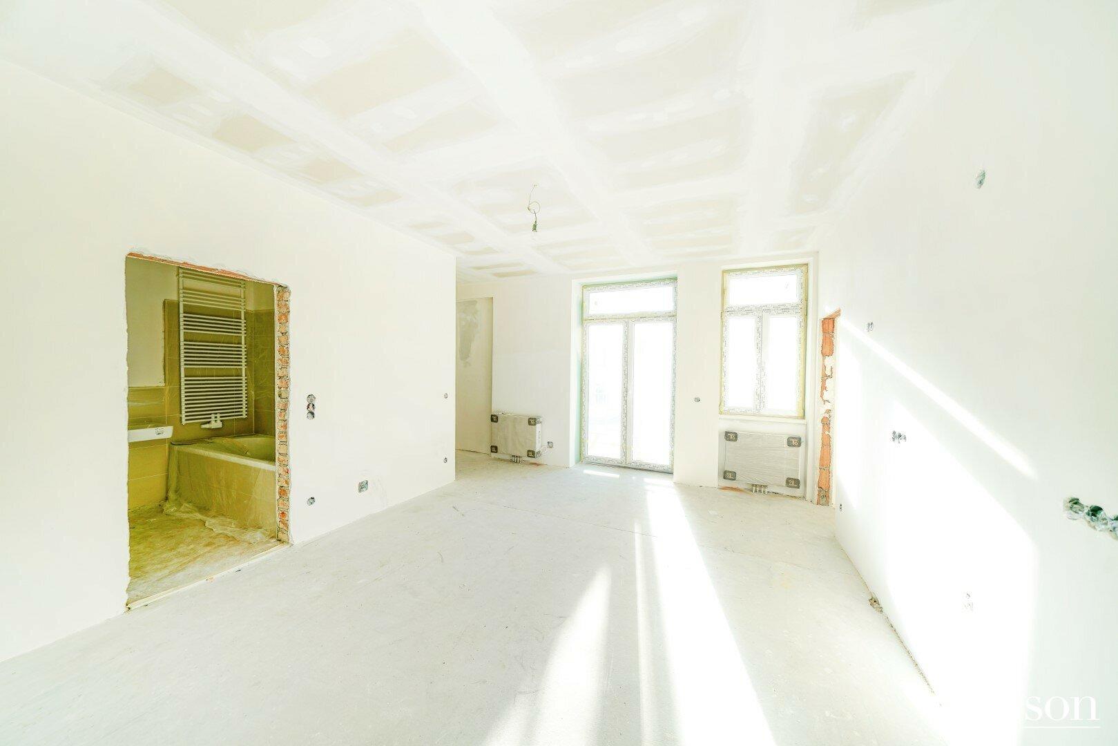 Wohnküche_Badezimmer
