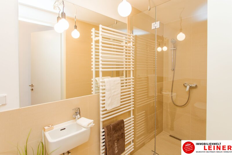 *UNBEFRISTET* *BARRIEREFREI* Schwechat - 3 Zimmer Mietwohnung mit 75 m² großem Garten und 21 m² großerTerrasse Objekt_8830 Bild_673