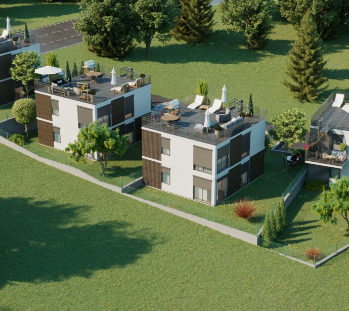 Vier Einfamilienhäuser im idyllischen Hintersdorf - PROVISIONSFREI